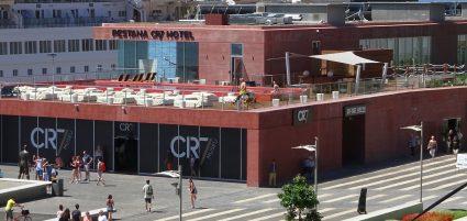 Cristiano Ronaldo hotel Costa Smeralda