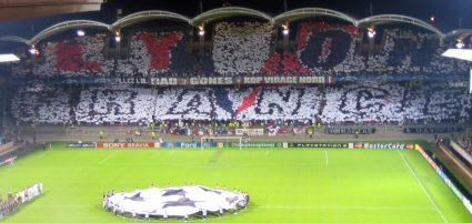 Lione Barcellona match