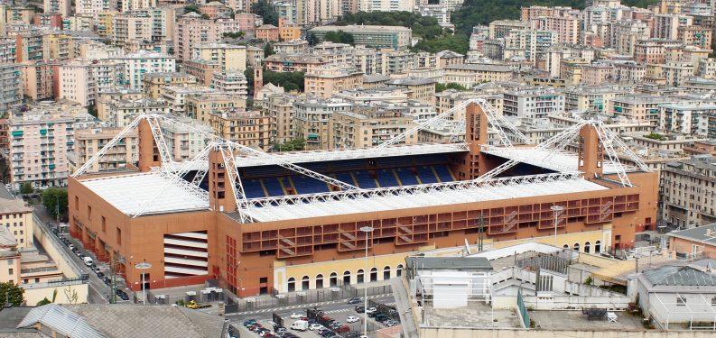 Genoa Juventus match